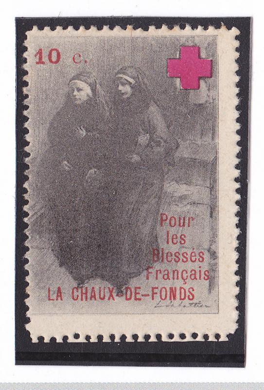 Latin America Argentina Poster Stamp Cinderella Seminario Diocesano Jesus Grape Fruit Vine