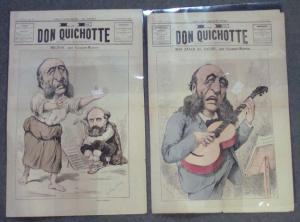 France - Two 19th Century Editions of Le Don Quichotte