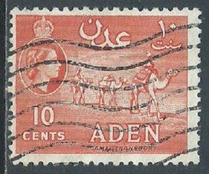Aden, Sc #49, 10c Used
