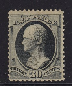 165  F-VF unused ( mint regummed ) with nice color cv $ 1200 ! see pic !