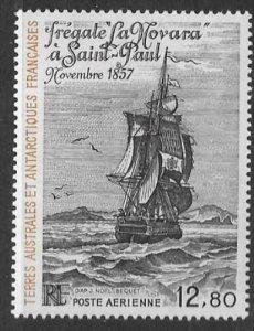 FRENCH SOUTHERN & ANTARCTIC TERRITORIES SG204 1985 LA NOVARA  MNH