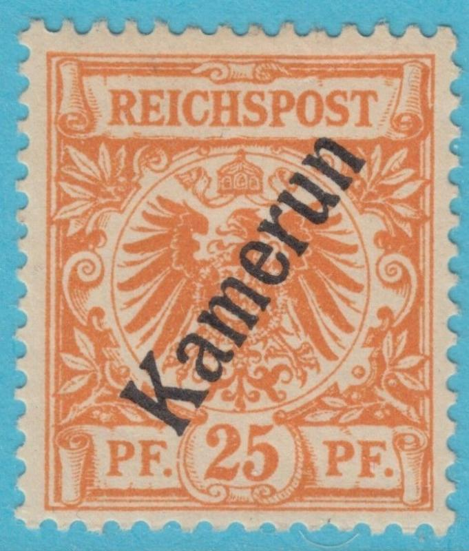 GERMAN COLONIES CAMEROUN 5  MINT HEAVY HINGED * OG NO FAULTS VERY FINE !