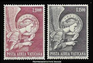 Vatican City Scott C53-C54 Mint never hinged.