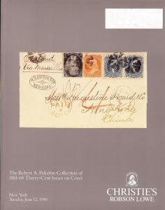The Robert A. Paliafito Collection of 1861-68 Thirty-Cent...