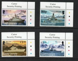 South Georgia 2020 Royal Navy set Superb MNH condition.