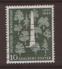 West Germany 1955 Stifter SG 1146 fine used