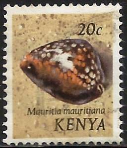 Kenya 1971 Scott# 39 Used