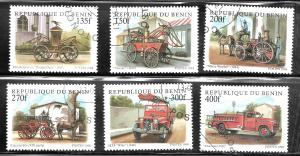 Benin 1998 SC# 1062-1067