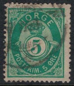 Norway #39b  CV $12.50