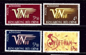 South Vietnam C1-4 MLH 1952-53 Air Mails