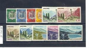 Andorra-French Scott 143-153     [ID#426648]