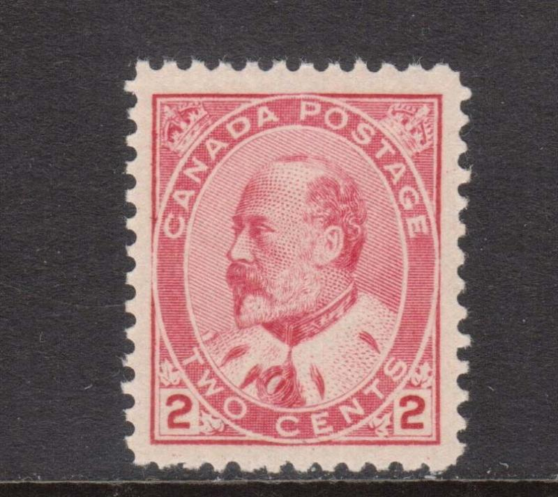 Canada #90vii XF/NH **With Certificate**