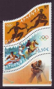 J20474 Jlstamps 2004 france set mnh #3040-1 sports