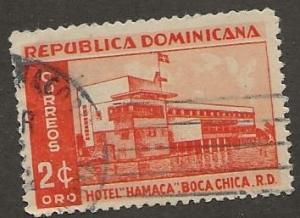 DOMINICAN REPUBLIC SC #  439     USED