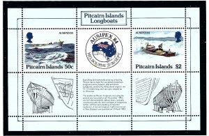 Pitcairn Is 248 MNH 1984 Longboats          (KA)