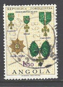 Angola Sc 534 used (RC)
