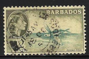 Barbados 1953 Scott# 242 Used
