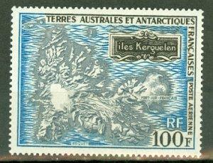 B: French Southern & Antarctic Territories C21 MNH CV $85