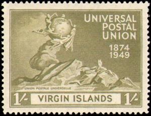 VIRGIN ISLANDS #92-95 MINT NEVER HINGED COMPLETE SET  ( 4 )