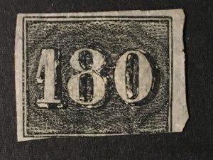 Brazil Sc. #26, mint, no gum, reprint?
