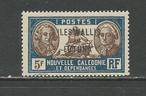 Wallis & Futuna Islands Scott catalogue # 82 Unused Hinged