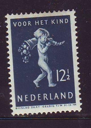 Netherlands Sc B122 1939 12 1/2c Child Welfare stamp mint