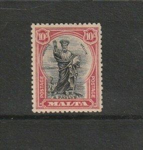 Malta 1926 defs Postage , 10/- MM SG 172