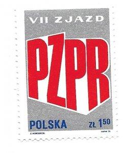 Poland 1975 - MNH - Scott #2136 *