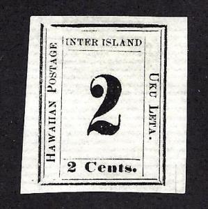 Hawaii 24 Mint,NG... Laid Paper... PSAG Cert... SCV $350.00