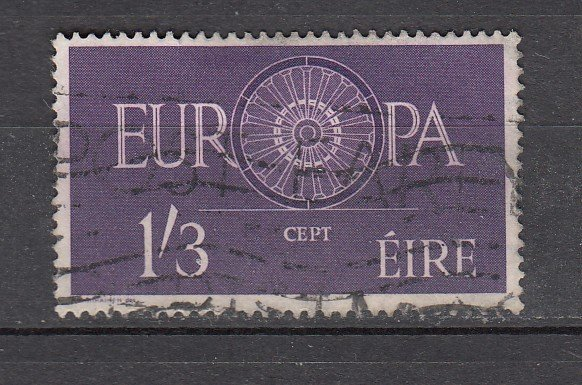 J26211  jlstamps 1960 ireland hv of set used #176 europa
