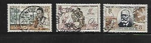 FRENCH WEST AFRICA, 59-61, USED, 1953-54 ISSUES