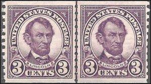 600 Mint,OG,NH... Line Pair... SCV $60.00