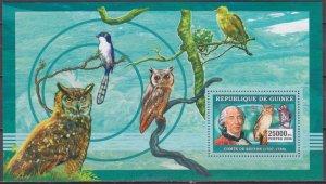 2006 Guinea 4285/B988 Owl birds / Count van Bufan 7,00 €
