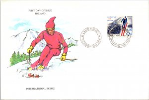 Finland, Worldwide First Day Cover, Sports
