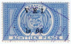 (I.B) Orange Free State Revenue : Duty Stamp 1/6d (VRI)