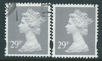 Great Britain - QE II Machin SG Y1693