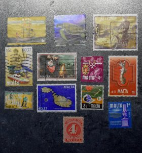 MALTA  Stamps  stock page 4c       ~~L@@K~~