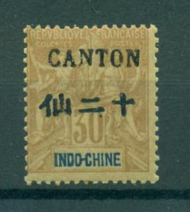 France Offices - China - Canton sc# 24 mnh cat value $60.00