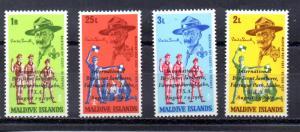 Maldive Islands 278-281 MNH