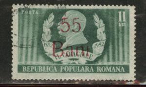 Romania Scott 818 used overprint