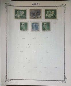 O) 1957 - 1958 CHILE, AMBROSIO O´HIGGINS SC C197, GABRIELA MISTRAL POET AND