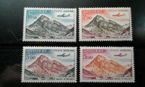 Andorra (French) #c5-8 MNH e199.5189
