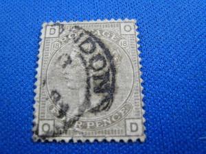 GREAT BRITAIN  -  SCOTT #84  -  Used      (brig)