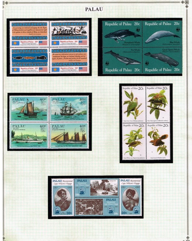 PALAU STAMP MNH STAMPS COLLECTION LOT  #2