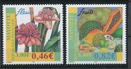 Mayotte 154-155 MNH (2001)