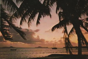 10971 Ansichtskarte Postcard ANSE PRASLIN ISLAND SEYCHELLES