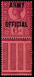 SGO45, 6d purple/rose-red, NH MINT. Cat £110+