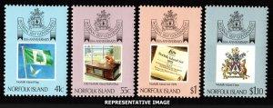 Norfolk Islands Scott 457-460 Mint never hinged.