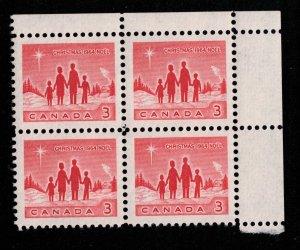 Canada - Christmas 1964 - Mint Block NH SC434