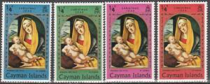 Cayman Is #242-5   F-VF Unused  (S6365)